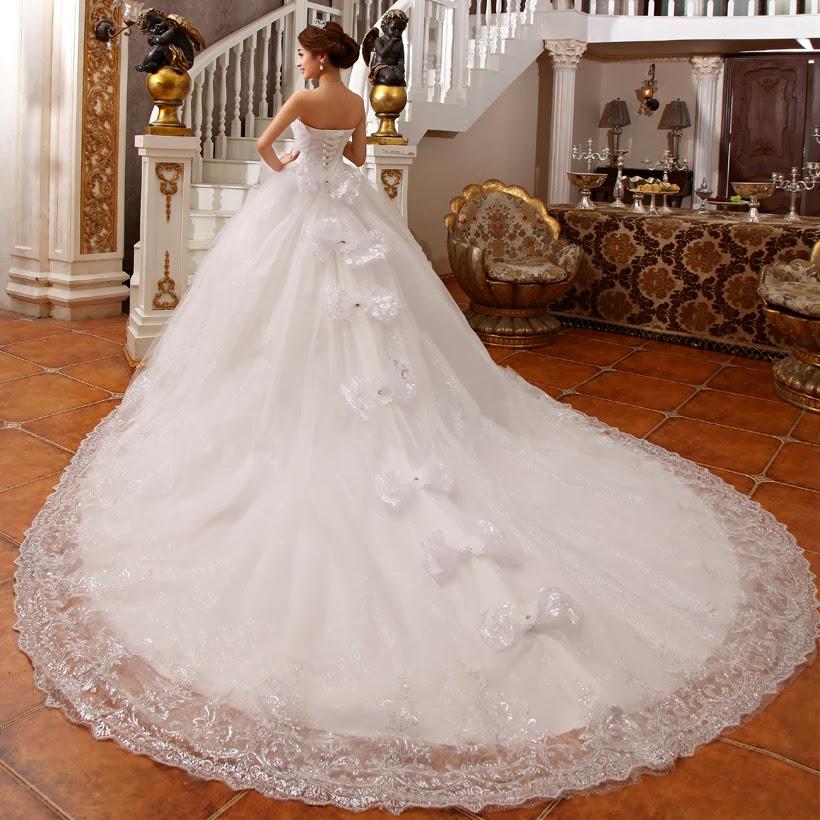 بالصور فساتين اعراس جديدة , فستان فرح لاجمل عروسة 909 5