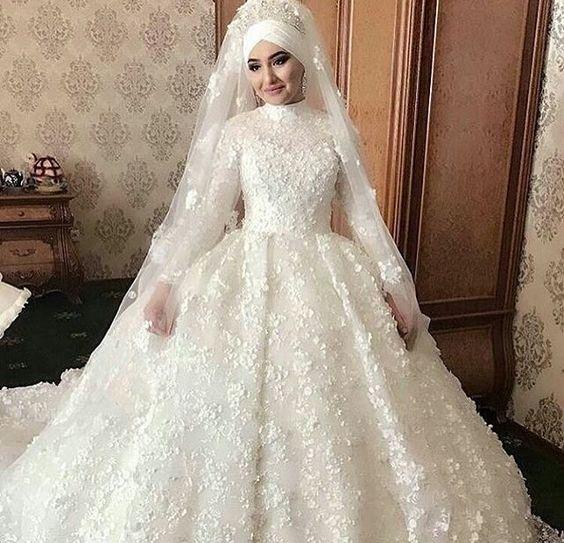 بالصور فساتين اعراس جديدة , فستان فرح لاجمل عروسة 909 6