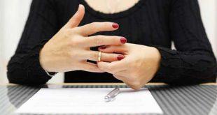 صور عدم حضور الزوج جلسات الطلاق , الطلاق بدون الزوج
