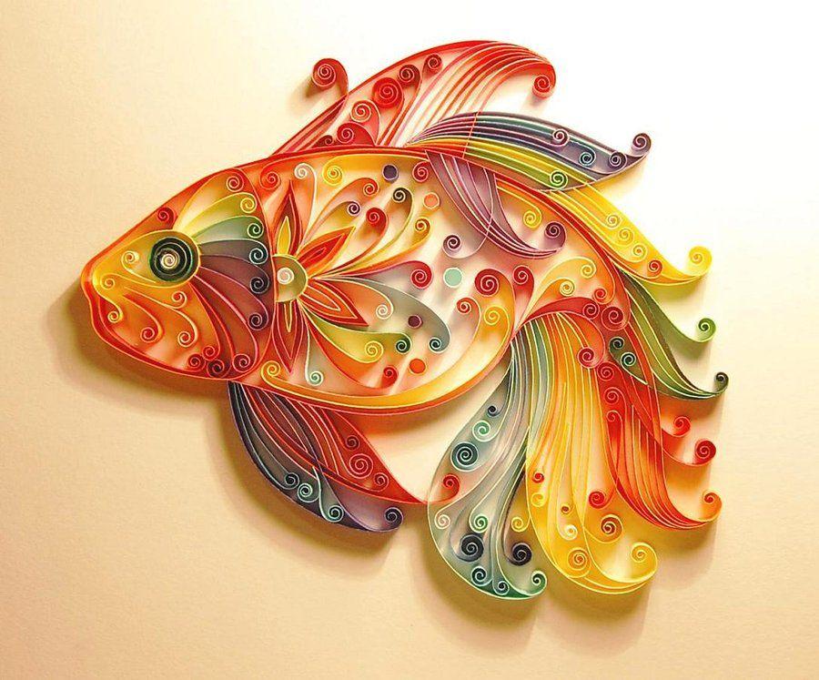 بالصور اعمال يدوية بالورق الملون , اجمل الاعمال الفنيه بالورق الملون 12256 6