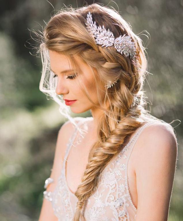 صور تسريحات شعر زواج , اشكال الشعر في الزفاف