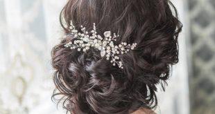 صورة تسريحات شعر زواج , اشكال الشعر في الزفاف