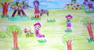 صور رسومات عن الربيع , اشكال جذابه للربيع