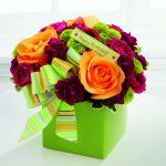 اجمل بوكيه ورد لعيد ميلاد , احلي واشيك باقات الورد
