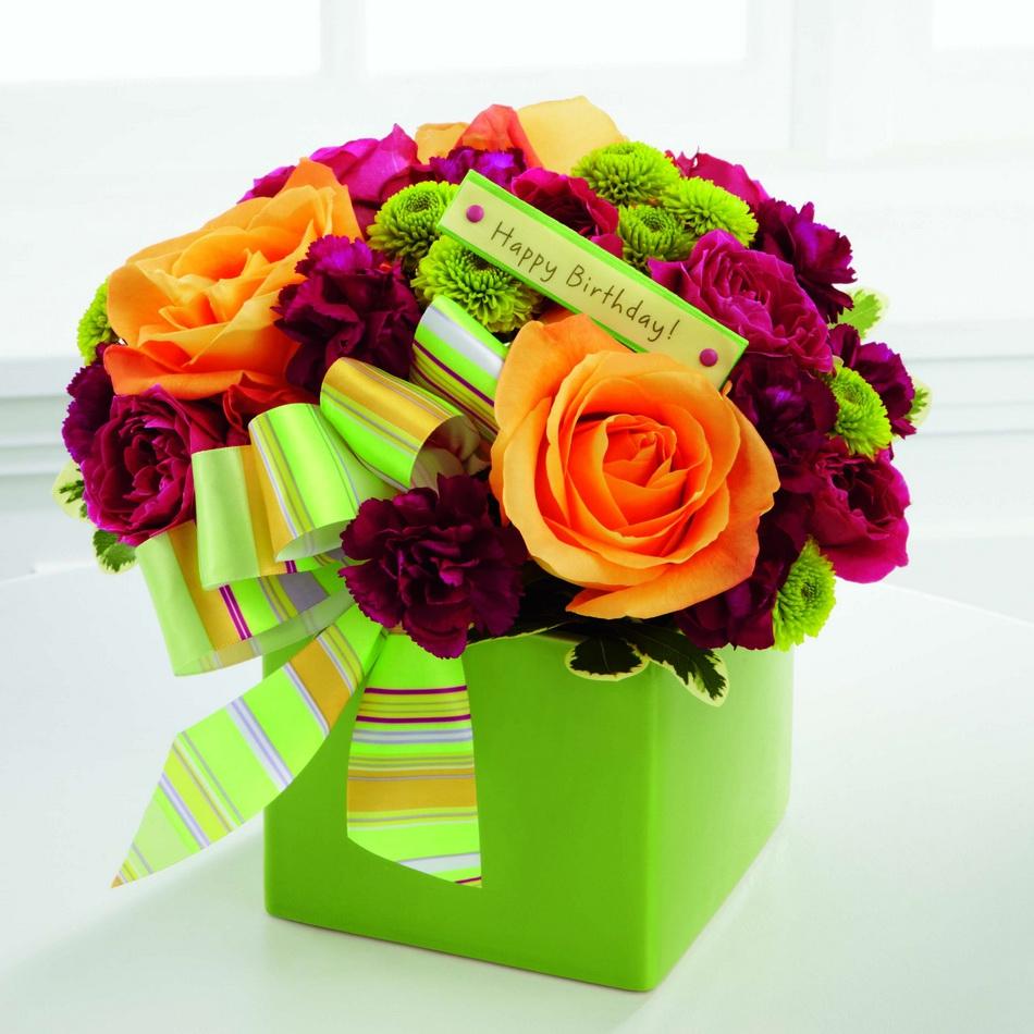 صور اجمل بوكيه ورد لعيد ميلاد , احلي واشيك باقات الورد