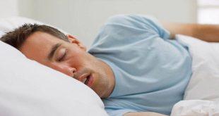 لماذا يسيل اللعاب اثناء النوم , التغيرات الجسديه اثناء النوم