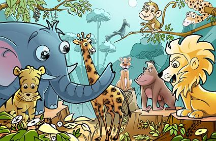 صورة قصة قصيرة عن التعاون, قصص لتربيه الاطفال