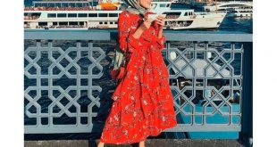 صورة فساتين محجبات تركية فيس بوك,ازياء تركية تجنن