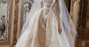 تصاميم فساتين زفاف ايلي صعب, احدث مودلات 2020 لليلة العمر