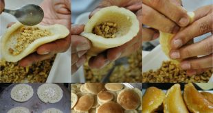 صورة حلوى رمضانية مشهورة تعرف معنا عليها ، عمل القطايف بالصور 12125 9 310x165