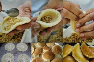 صورة حلوى رمضانية مشهورة تعرف معنا عليها ، عمل القطايف بالصور 12125 9 310x205